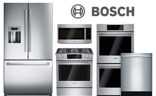 bosch, ranges, dishwashers, refrigerators, cooktops, pacific sales