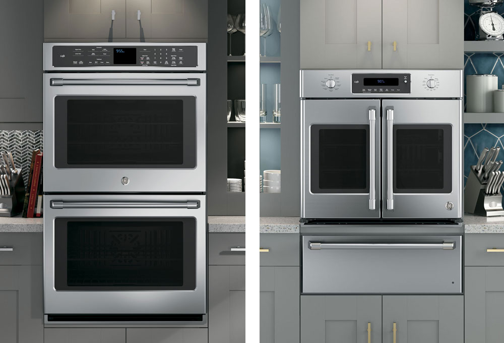 ge caf series wall ovens