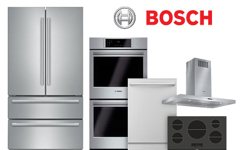 bosch, ranges, dishwashers, refrigerators, cooktops, pacific sales