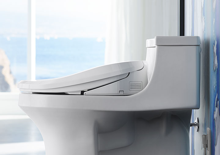 cleansing seats, kohler, pacific sales