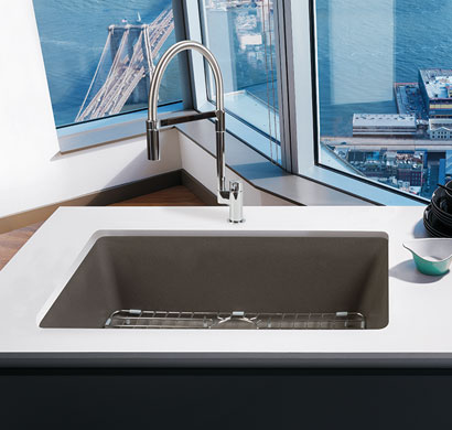 granite sink, franke, kitchen products, pacific sales