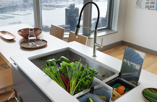 chef center, franke, sink system, pacific sales