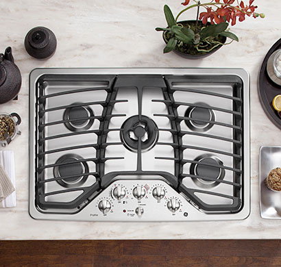 ge profile cooktops, rangetops, ge appliances, pacific sales