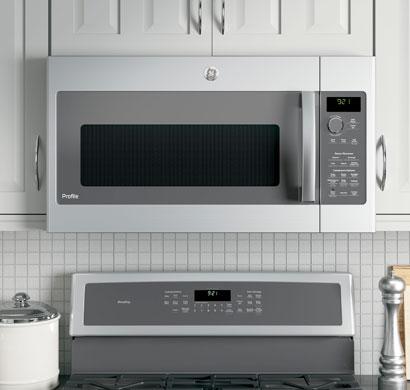 ge profile microwave, microwaves ovens, over the range, built-ins, counter tops, appliances, pacific sales