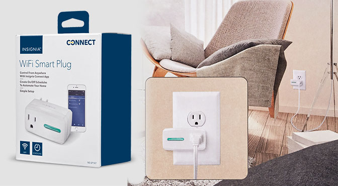 Smart Home, Insignia, Connect, Appliances, Smart Plug