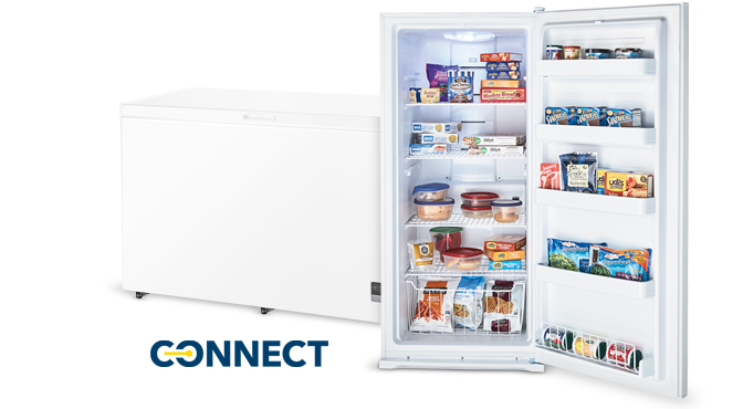 Insignia, Connect, Smart Home, app, freezer