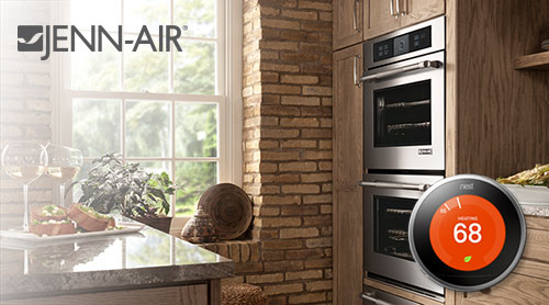 jenn-air, wall oven, nest, thermostat appliances, rebate, pacific sales