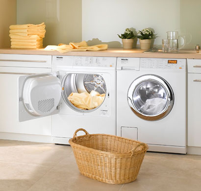laundry, washer, dryer, miele, appliance, pacific sale