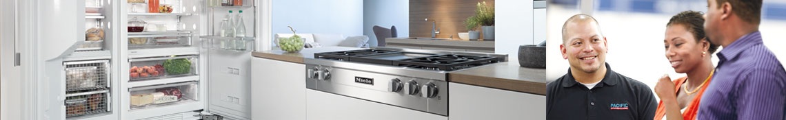 store locator, miele, pacific sales, kitchen appliances