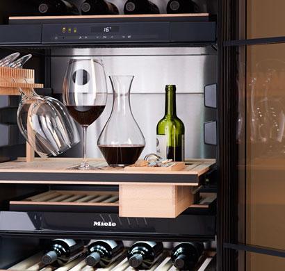 refrigeration, built-ins, wine storage, appliances, miele,pacific sales