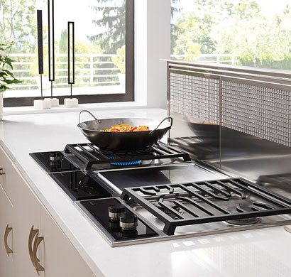 module cooktop, subzero wolf, appliances, pacific sales.