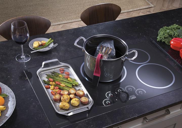 induction, cooktop, monogram, appliances, pacific sales.