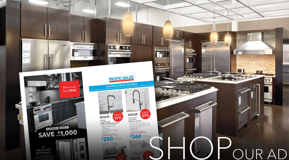 Promotions, Sales, Top Deals, Appliances, Kitchen & Bath Fixtures, Pac Sales