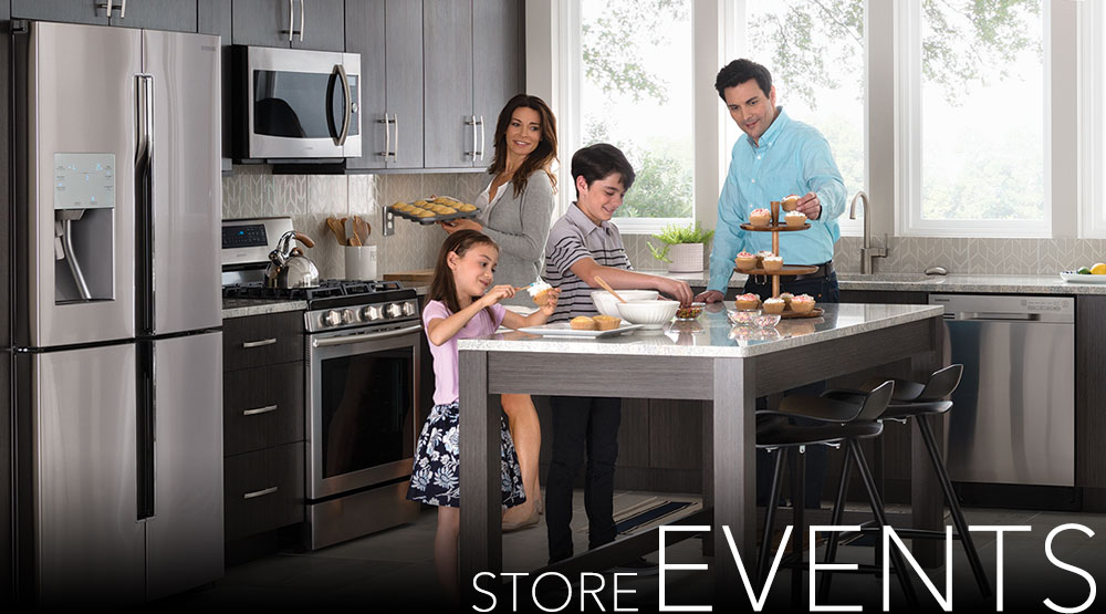 Pacific Sales, Events, Promotions, Cooking, Demos, Appliances,