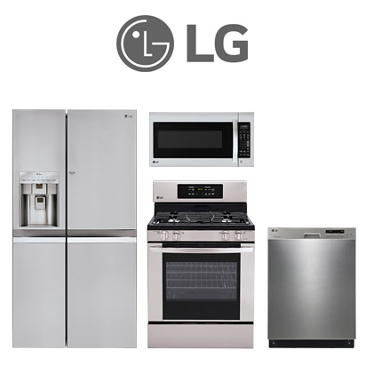 LG 4 Piece Kitchen Package